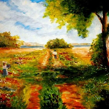 Conteporary impressionism landscape  paintings
