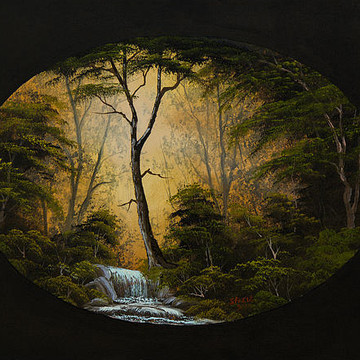 Oval Paintings