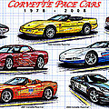 Pace Car Corvettes Collection