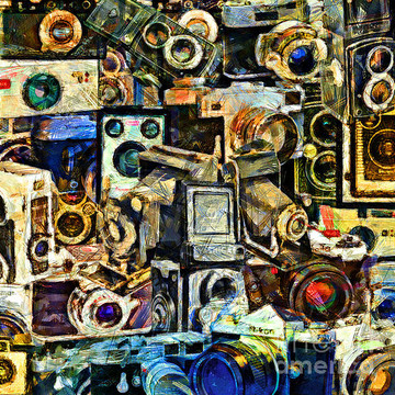 Painterly Style Photo Art Collection