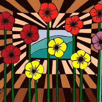 Paintings - Flowers Collection