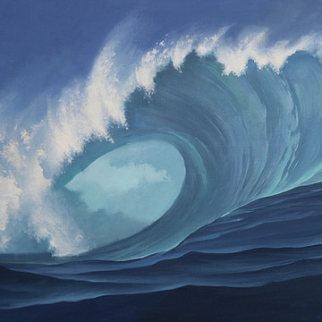 Paintings - Waves Collection