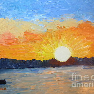 Palette Knife Paintings Collection