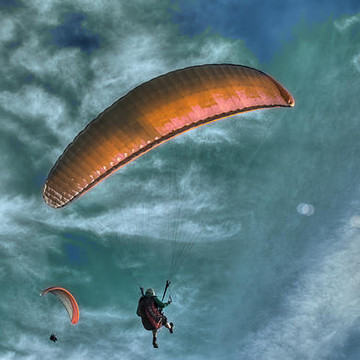 Paragliding Views Collection