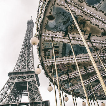 Paris Eiffel Tower by GCF Photography Collection