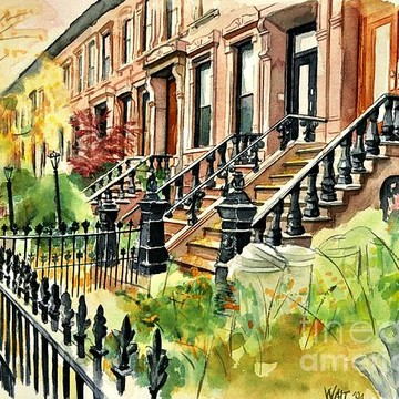 Park Slope Paintings