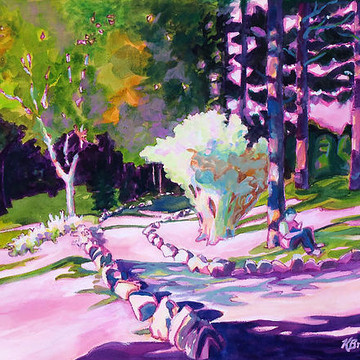 Parks and Gardenscape Paintings Collection