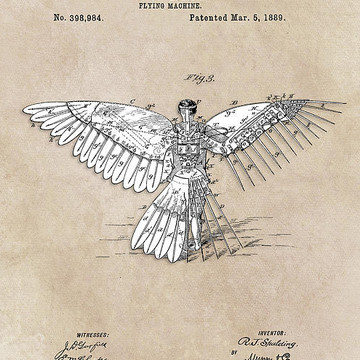 Patents Art Collection