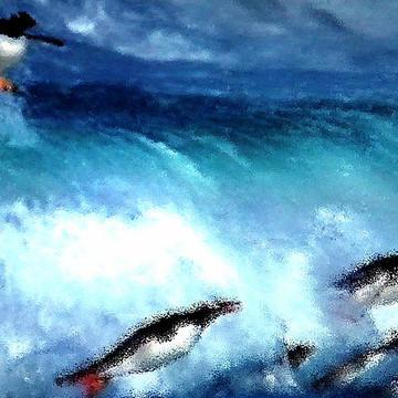 Penquins Water Paints Collection