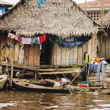 Peru - Floating Shanty Town