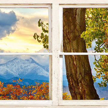 Picture Window View Art  Photos