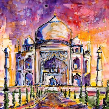 Places in Watercolor Collection