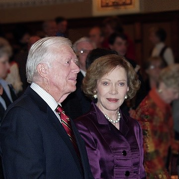 Plains GA with President Jimmy Carter and Mrs. Rosalynn Carter Collection