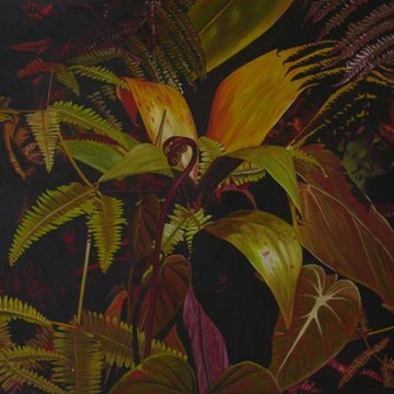 Plantscape paintings Collection