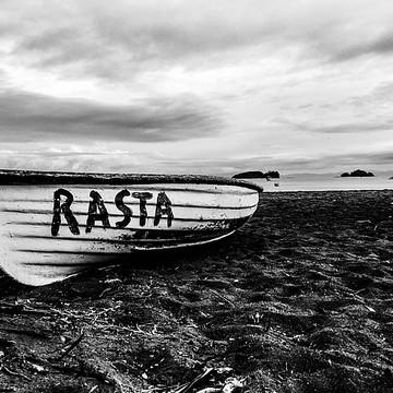 Playa De Coco Costa Rica Black And White Collection