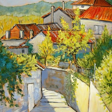 plein air paintings Landscapes Collection