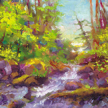 Plein Air Paintings Collection