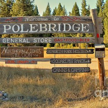 Polebridge Montana And Glacier North Fork Collection