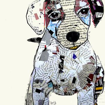 Pop Art Dog Art Collection