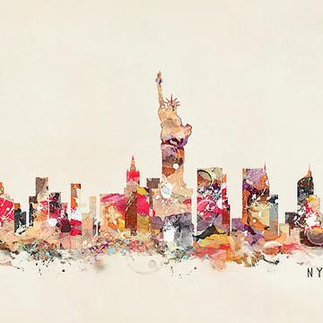 Pop Art Skylines 2 Collection
