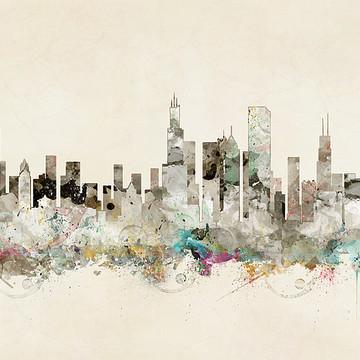 Pop Art Skylines 3 Collection