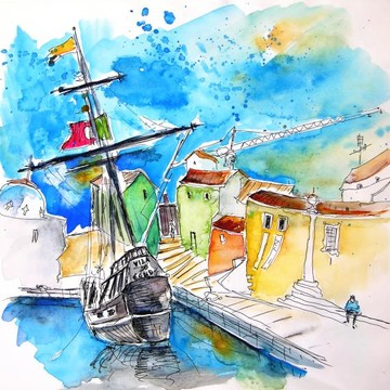 Portugal  Sketches and Paintings Collection