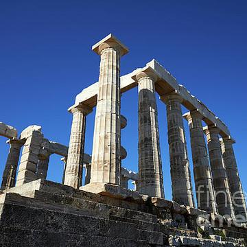 Poseidon temple photos Collection
