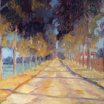 Provence France Paintings by Linda Wissler