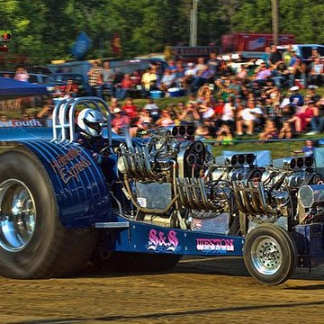 Pulling Trucks and  Tractors Collection