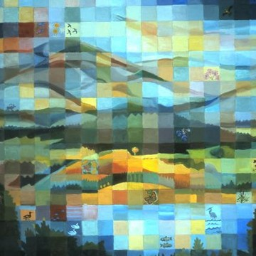 Quilt-inspired Paintings Collection