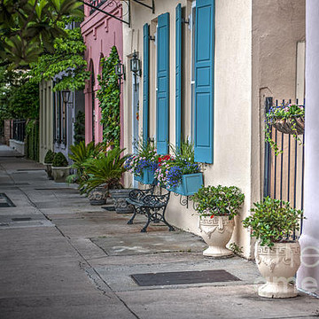Rainbow Row in Charleston SC Collection