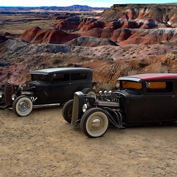 Rat Rods and Old School Hot Rods Collection