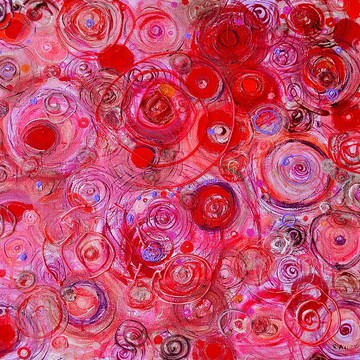 Red and reddish abstracts Collection