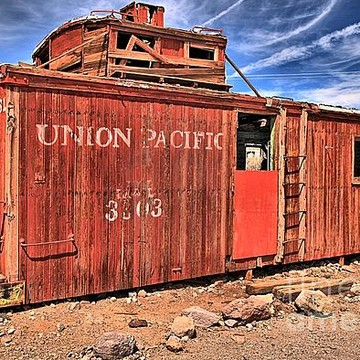 Rhyolite Ghost Town - Nevada Collection