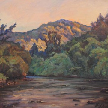 River Paintings and Photos Collection