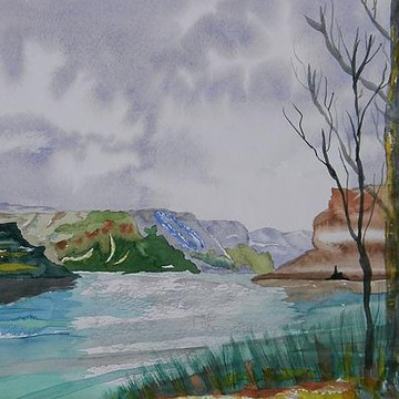 Rivers- Paintings and Photography Collection