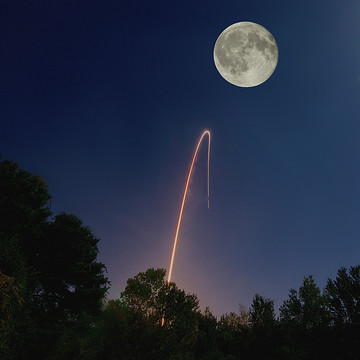 Rocket Launch Photography Collection