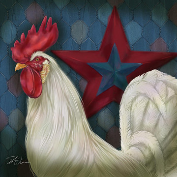 Roosters Art Collection