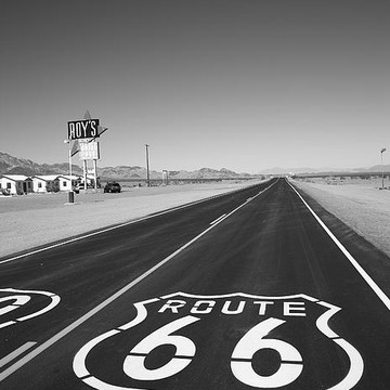 Route 66 BW Collection