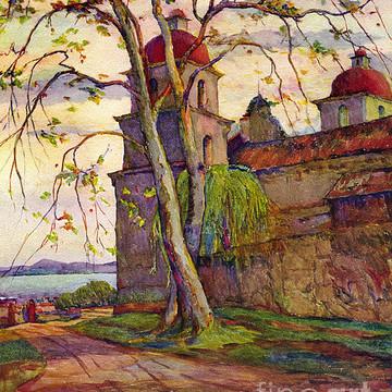 Rowena Meeks Abdy  1887-1945 Early California Artist.