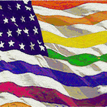 Rubino American Flag -- And A Smattering Of Other Country