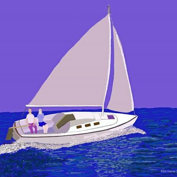 Sailboat paintings Collection
