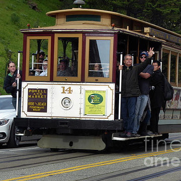 San Francisco Cable Car and Trolley images Collection