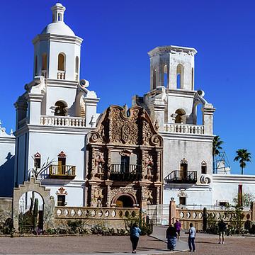 San Xavier del Bac Mission - Tucson Arizona Collection