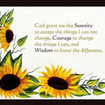 Serenity Prayer Art Collection