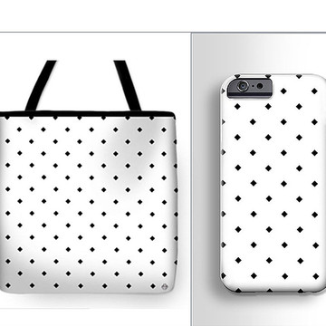 Sets of Tote bags and Phone cases for example Collection