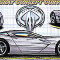 Show Car Corvettes Collection