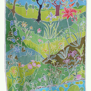 Silk Wall Hangings Collection