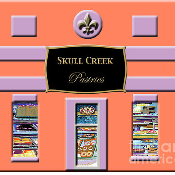 Skull Creek Pastries Paint Markers Collection