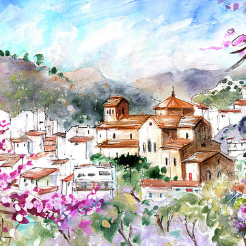 Spain Sketches and Paintings Collection